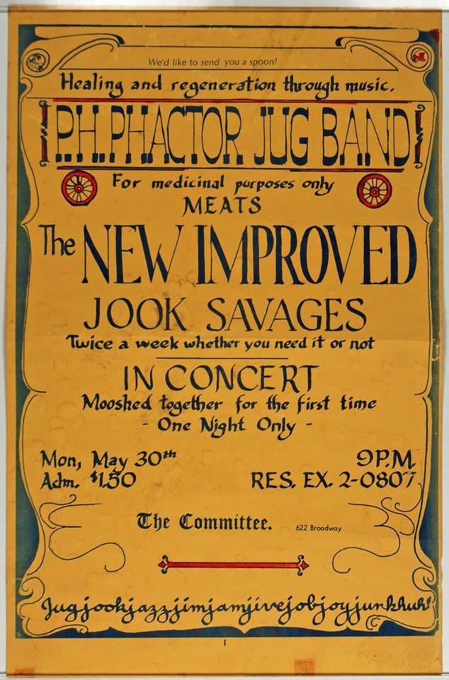 Jook Savages Handbill